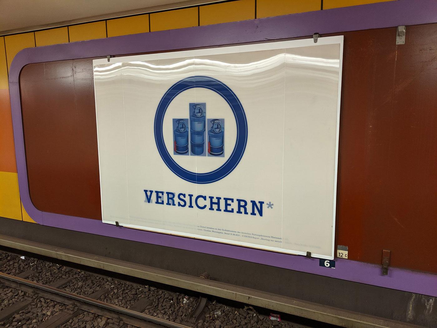 Josefine Günschel »Versichern | Entsichern« (Foto: Benjamin Renter)