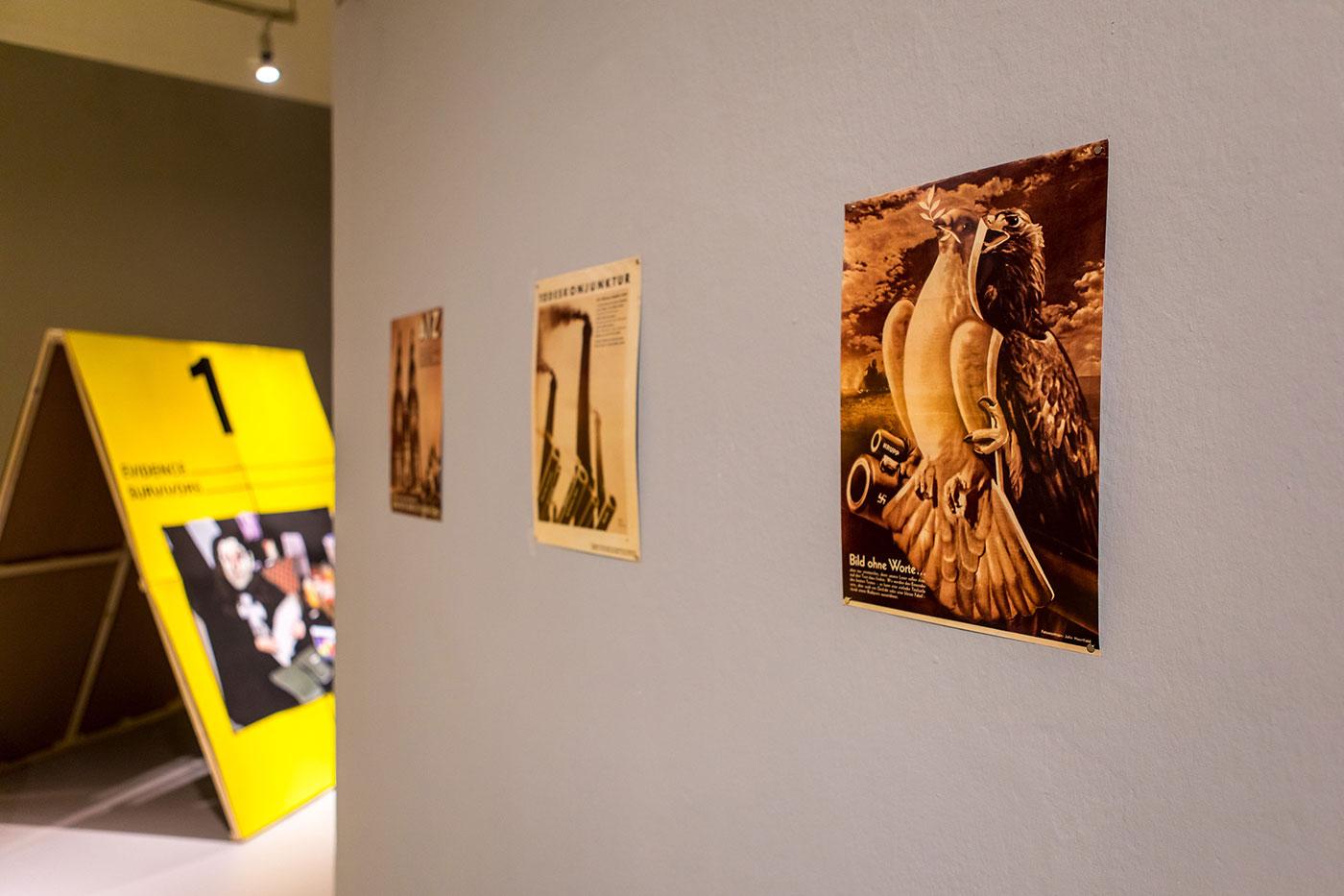 Ausstellungsansicht »Up in Arms«, Kunstraum Kreuzberg/Bethanien 2019, Photo: Julian van Dieken